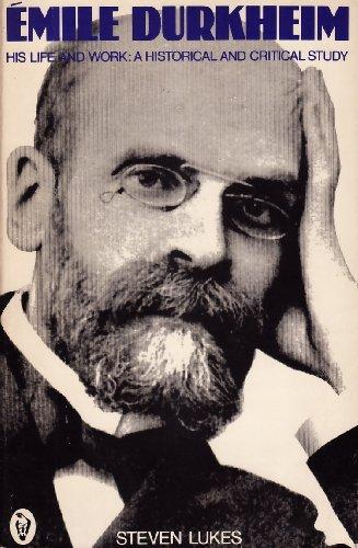 9780140550931: Emile Durkheim: A Historical and Critical Study (Peregrine Books)