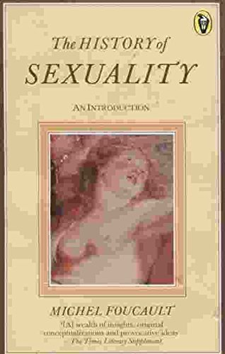 Foucault the history of sexuality volume 1 an introduction