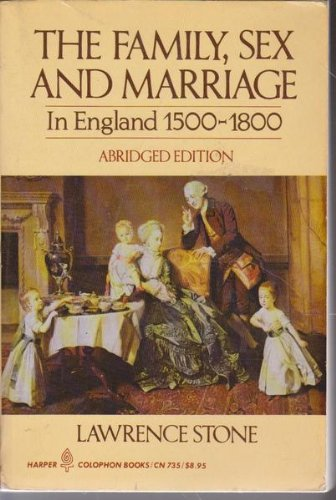 9780140551679: Family Sex And Marriage: 1500 -1800 (Peregrine Books)