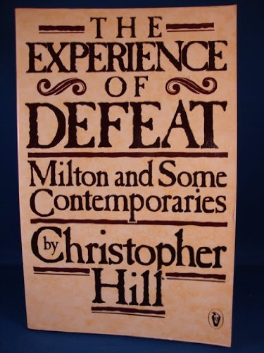 9780140552034: The Experience of Defeat (Peregrine books)