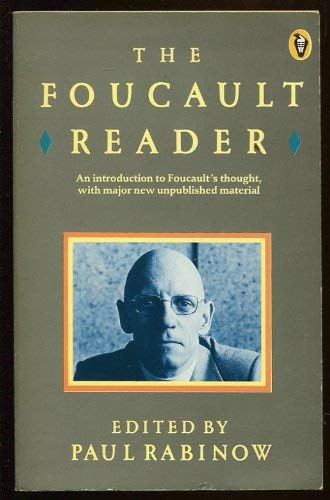 9780140552102: The Foucault Reader: An Introduction to Foucault's Thought, with Major New Unpublished Material (Peregrine Books)