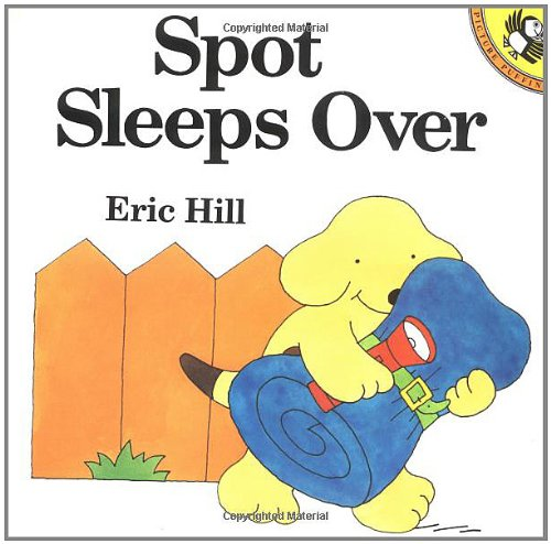 9780140553017: Spot Stays Overnight (Us) (A Lift-the-Flap Book)