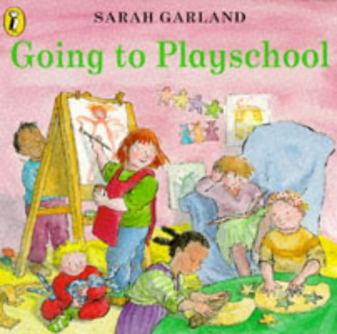 9780140553635: Going to Playschool (Picture Puffin)