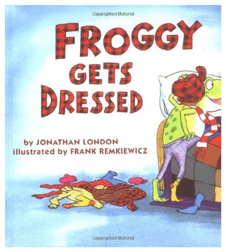 9780140553789: Froggy Gets Dressed: Giant Edition