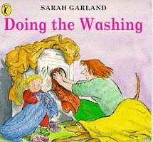 Doing The Washing (Puffin playschool books) 9780140553970 Time for all the dirty clothes to go into the washing machine. Soap in, switch on - and the long process of doing a family wash has begu