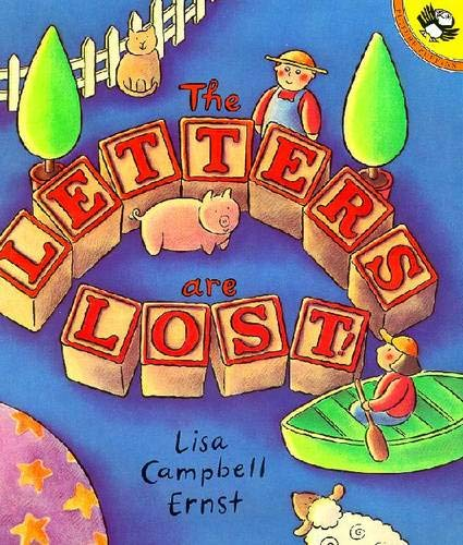 9780140556636: The Letters Are Lost!