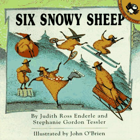 9780140557046: Six Snowy Sheep (Picture Puffins)