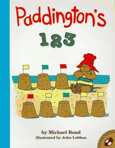 9780140557626: Paddington's 1 2 3 (Picture Puffins)