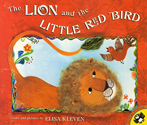 9780140558098: The Lion and the Little Red Bird (Picture Puffins)