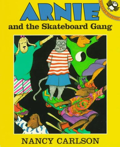 9780140558401: Arnie and the Skateboard Gang (Picture Puffins)