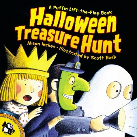 9780140558616: Halloween Treasure Hunt (Lift-the-Flap, Puffin)