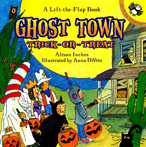 9780140558630: Ghost Town Trick or Treat (Lift-the-Flap, Puffin)