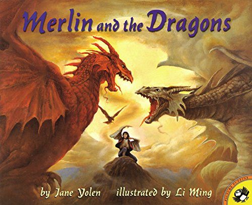 9780140558913: Merlin and the Dragons (Picture Puffin Books)
