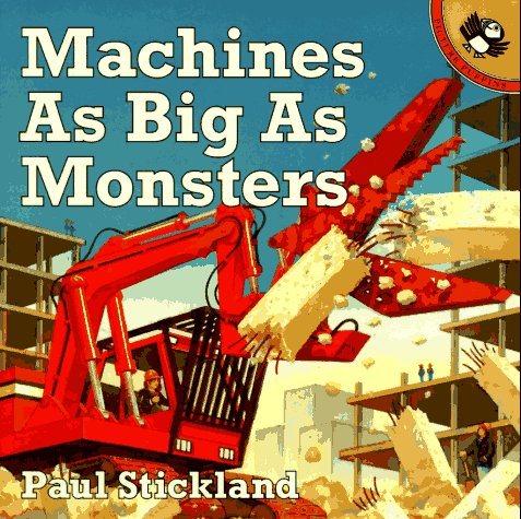 9780140559101: Machines as Big as Monsters (Picture Puffins)