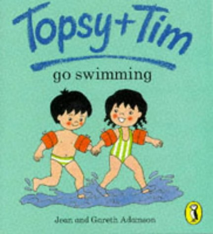 9780140559255: Topsy And Tim Go Swimming (Topsy & Tim picture Puffins)
