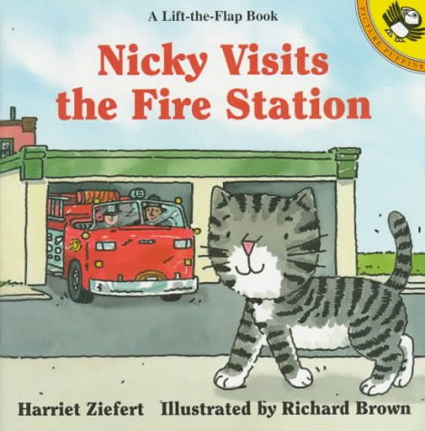 9780140559453: Nicky Visits the Fire Station (Picture Puffin)