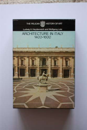 9780140560381: Architecture in Italy: 1400-1600 (Pelican History of Art)