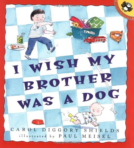 9780140561913: I Wish My Brother Was a Dog (Picture Puffins)