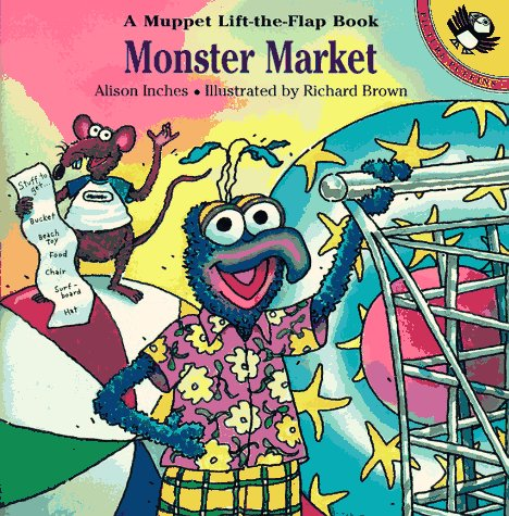 9780140562187: Monster Market Flap Book (Muppet Lift-the-Flap Book)