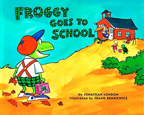 9780140562477: Froggy Goes to School [With Tattoos]