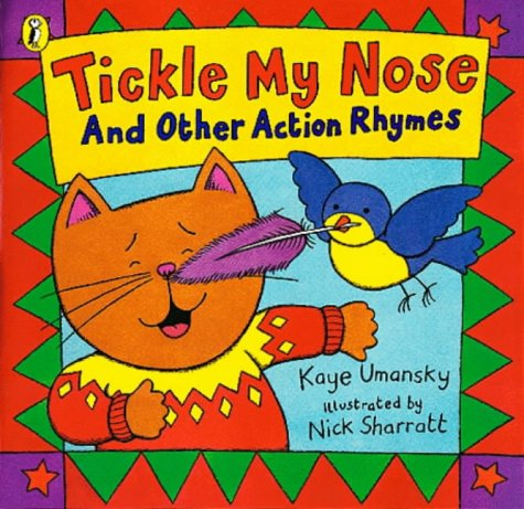 9780140562637: Tickle My Nose and Other Action Rhymes (Picture Puffin)