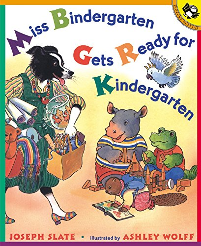 9780140562736: Miss Bindergarten Gets Ready for Kindergarten (Miss Bindergarten Books (Paperback))