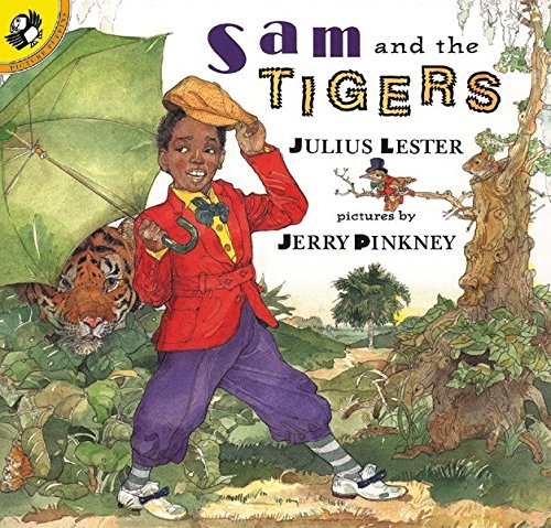 9780140562880: Sam and the Tigers: A New Telling of Little Black Sambo (Picture Puffin Books)