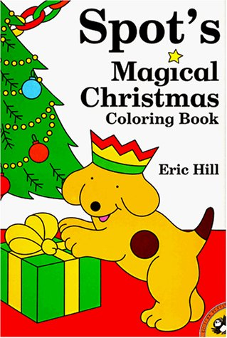9780140563214: Spot's Magical Christmas Coloring Book