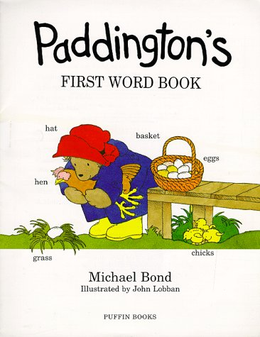 9780140563269: Paddington's First Word Book (Picture Puffins)