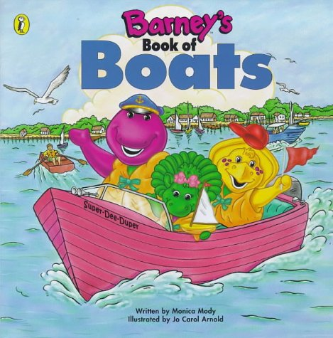 9780140563825: Barney's Book of Boats