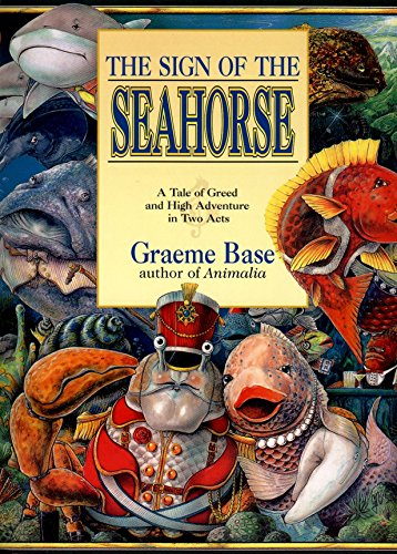 9780140563870: The Sign of the Seahorse: A Tale of Greed And High Adventure in Two Acts (Picture Puffin Books)