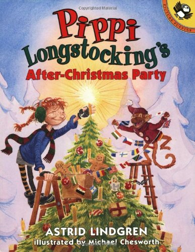 9780140564259: Pippi Longstocking's after-Christmas Party (Picture Puffins)