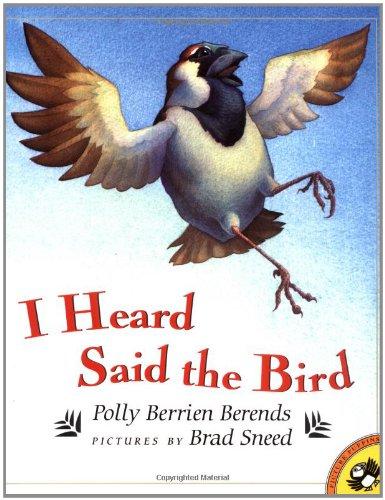 9780140564266: I Heard Said the Bird