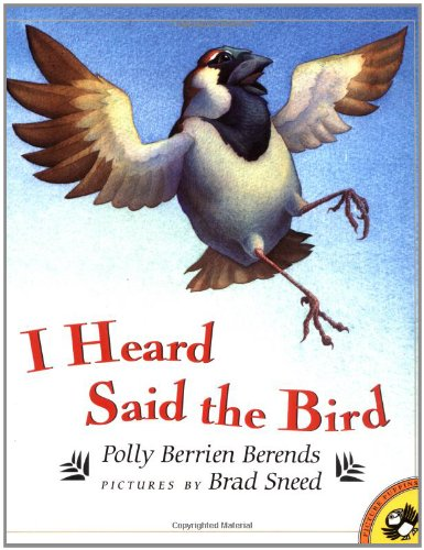 9780140564266: I Heard Said the Bird (Picture Puffin Books)