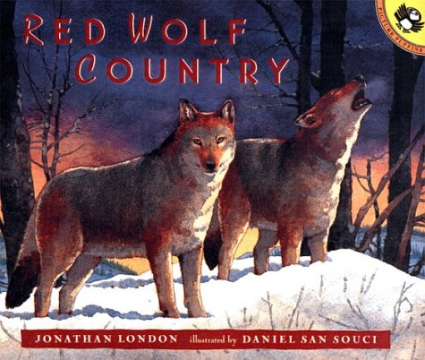 9780140564501: Red Wolf Country