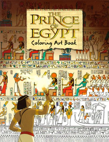 9780140564730: Prince of Egypt Coloring & Art
