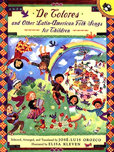 9780140565485: De Colores and Other Latin-American Folk Songs for Children (Anthology)