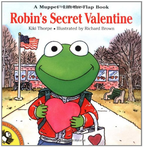 9780140565799: Robin's Secret Valentine (Muppets)