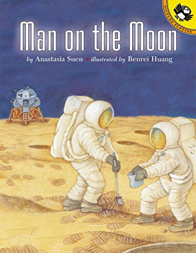 9780140565980: Man on the Moon (Picture Puffins)