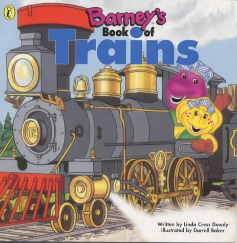 9780140566444: Barney's Book of Trains