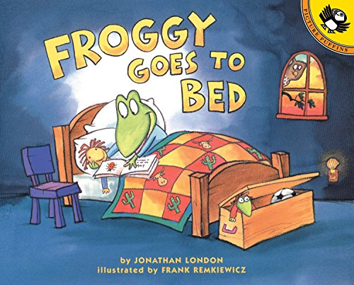 9780140566574: Froggy Goes to Bed