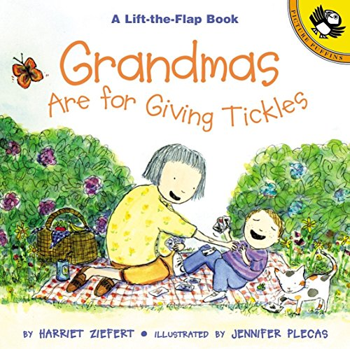 9780140567182: Grandmas are for Giving Tickles (Lift-the-Flap, Puffin)