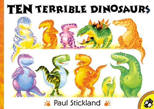 9780140567700: Ten Terrible Dinosaurs (Picture Puffins)