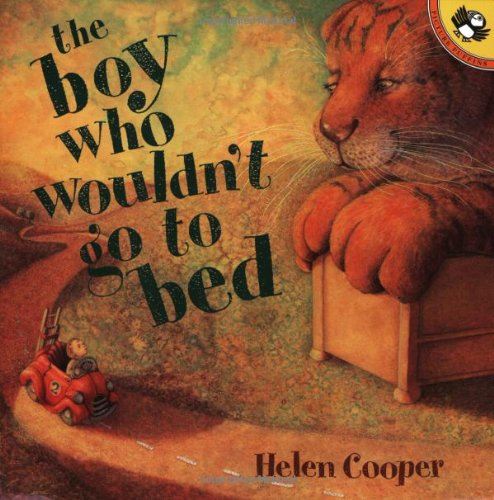 9780140567717: The Boy Who Wouldn't Go to Bed (Picture Puffins)