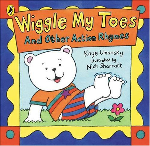 9780140567724: Wiggle My Toes: And Other Action Rhymes (Puffin Picture Books)