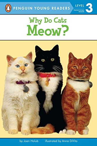 9780140567885: Why Do Cats Meow? (Puffin easy-to-read)