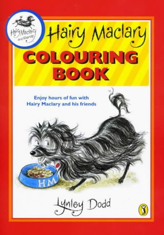 9780140568035: Hairy Maclary Colouring Book