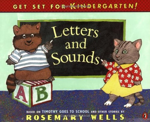 9780140568059: Letters and Sounds: Timothy Goes to School Learning Book #1 (Get Set for Kindergarten!)
