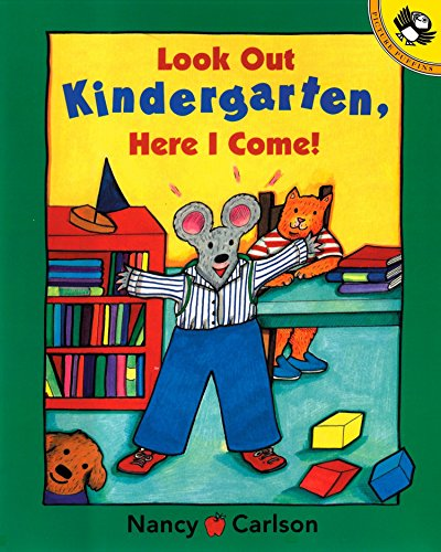 9780140568387: Look Out Kindergarten, Here I Come (Picture Puffins)