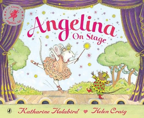 9780140568660: Angelina on Stage